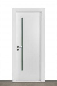 דלת ונציה בצבע לבן wpc